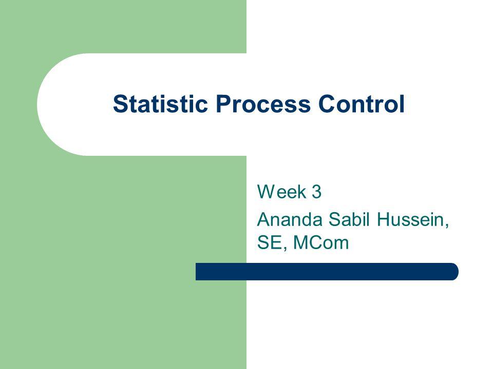 Statistic Process Control