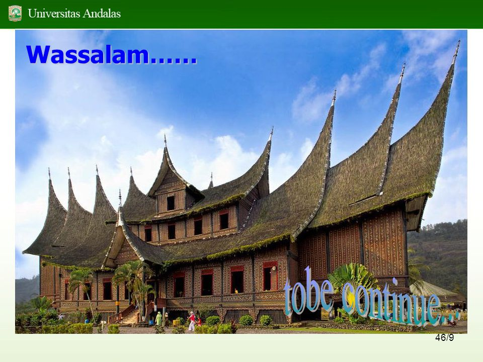 Wassalam…… tobe continue...