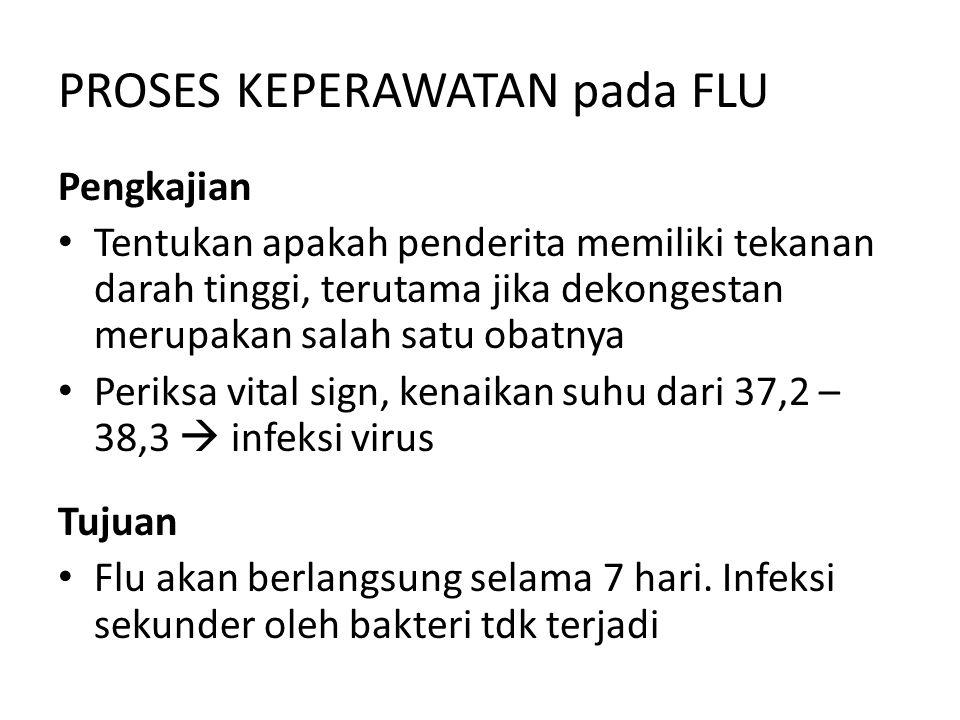 PROSES KEPERAWATAN pada FLU