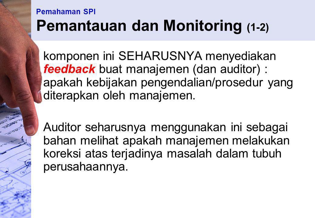 Pemahaman SPI Pemantauan dan Monitoring (1-2)