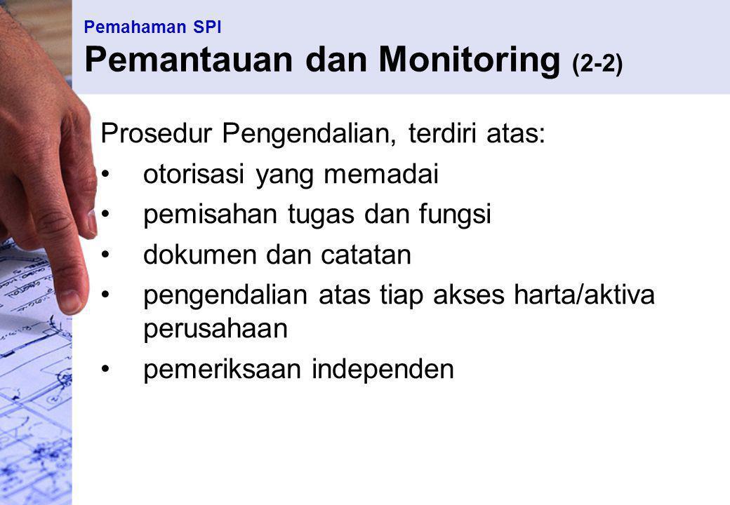 Pemahaman SPI Pemantauan dan Monitoring (2-2)