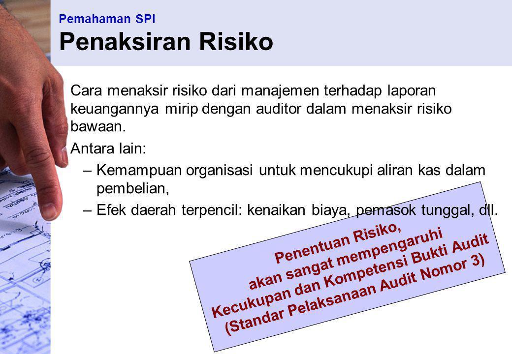 Pemahaman SPI Penaksiran Risiko