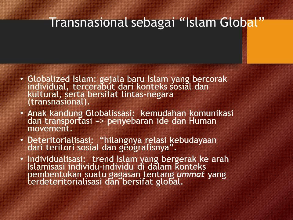 Transnasional sebagai Islam Global