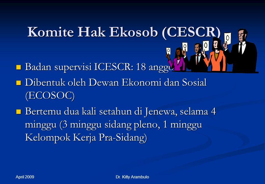 Komite Hak Ekosob (CESCR)