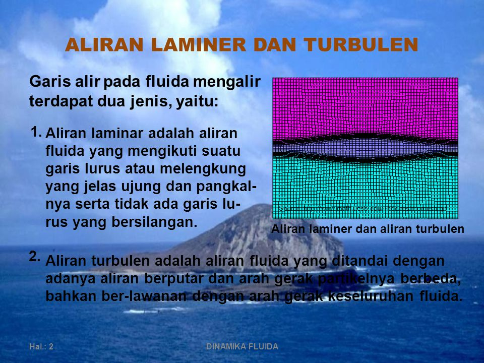 ALIRAN LAMINER DAN TURBULEN
