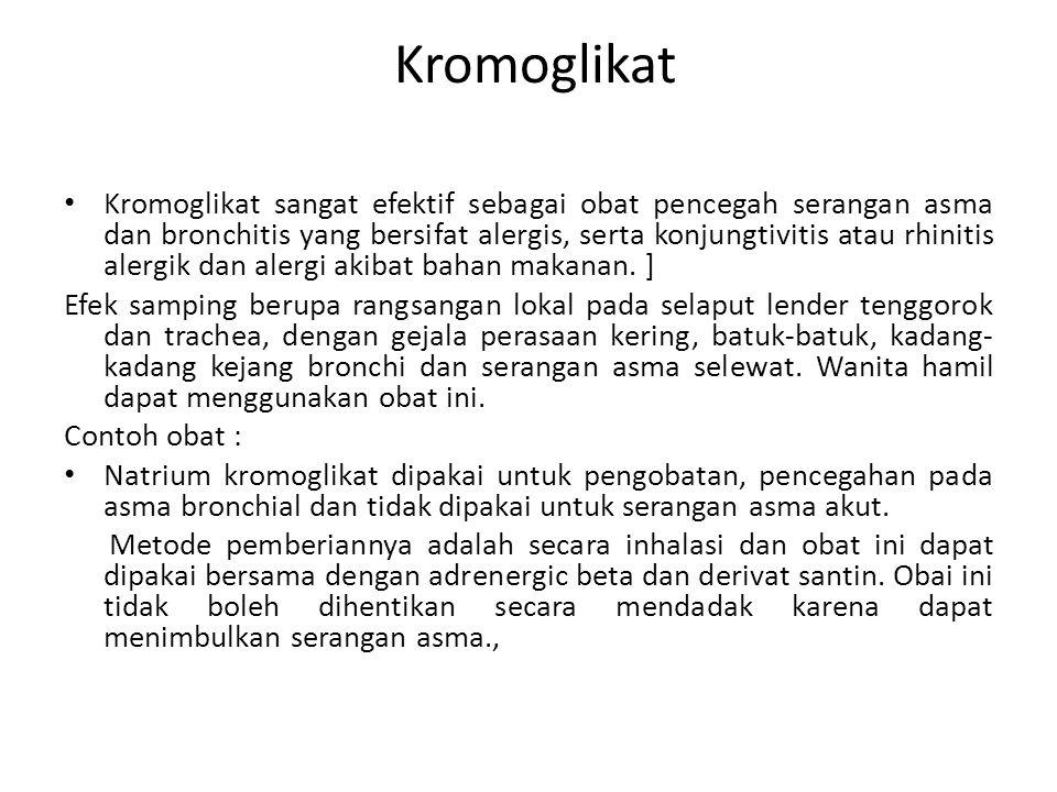 Kromoglikat