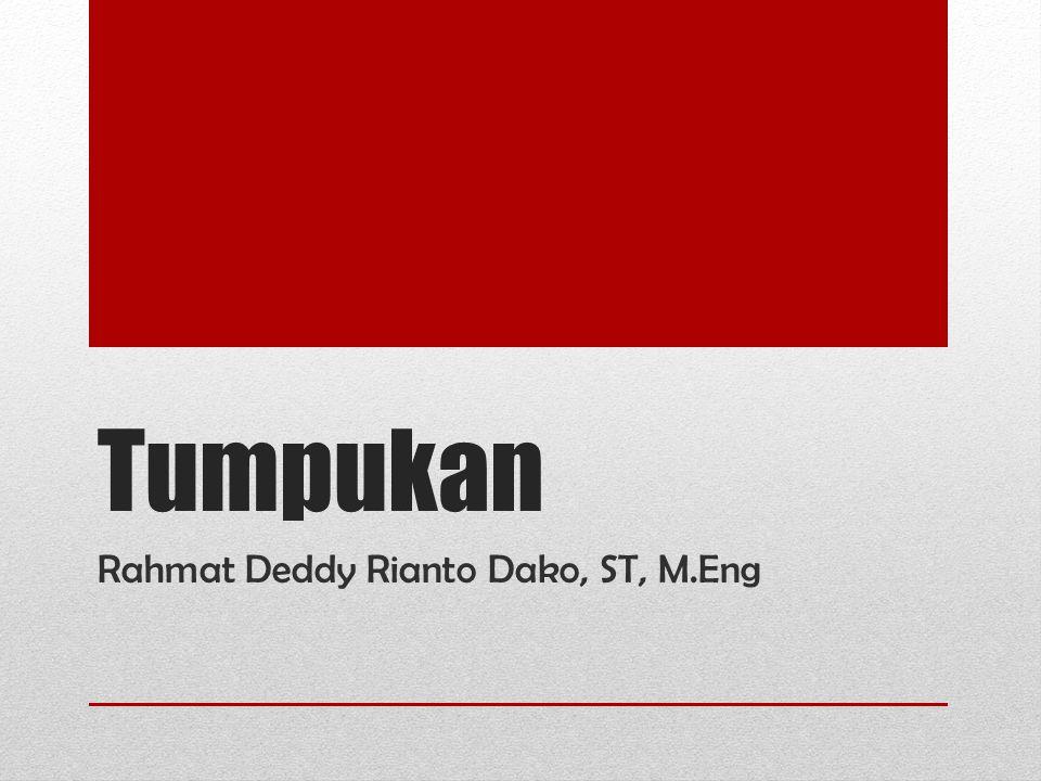 Rahmat Deddy Rianto Dako, ST, M.Eng