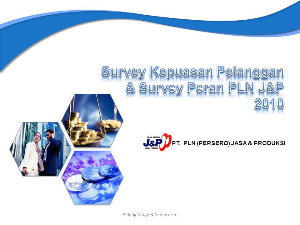 Survey Kepuasan Pelanggan & Survey Peran PLN J&P 2010