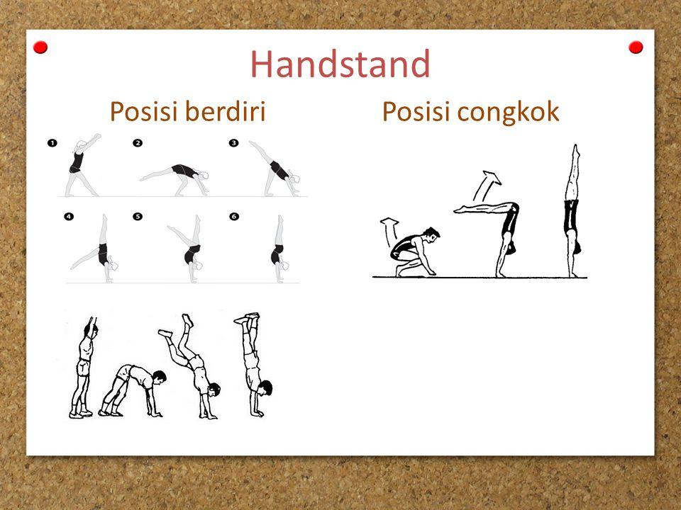 Handstand Posisi berdiri Posisi congkok