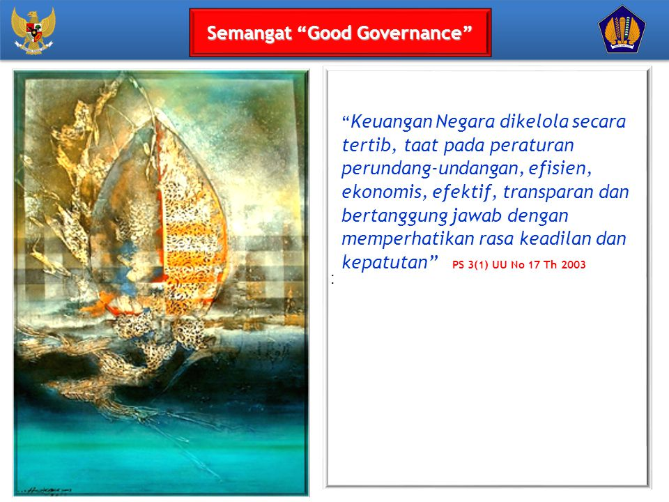 Semangat Good Governance