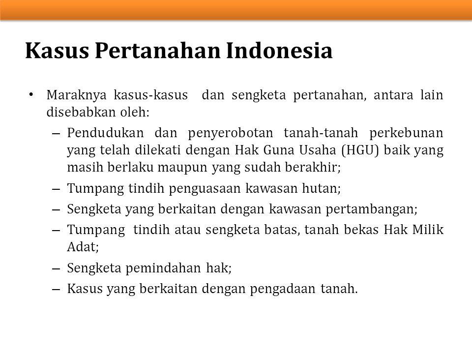 Kasus Pertanahan Indonesia
