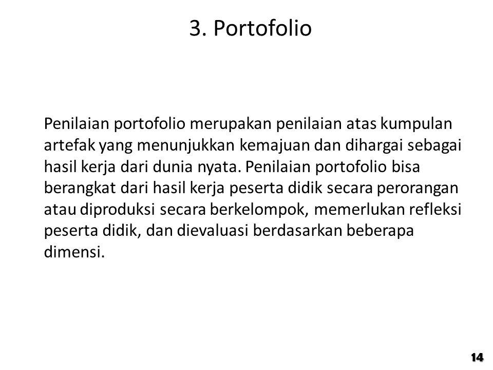 3. Portofolio