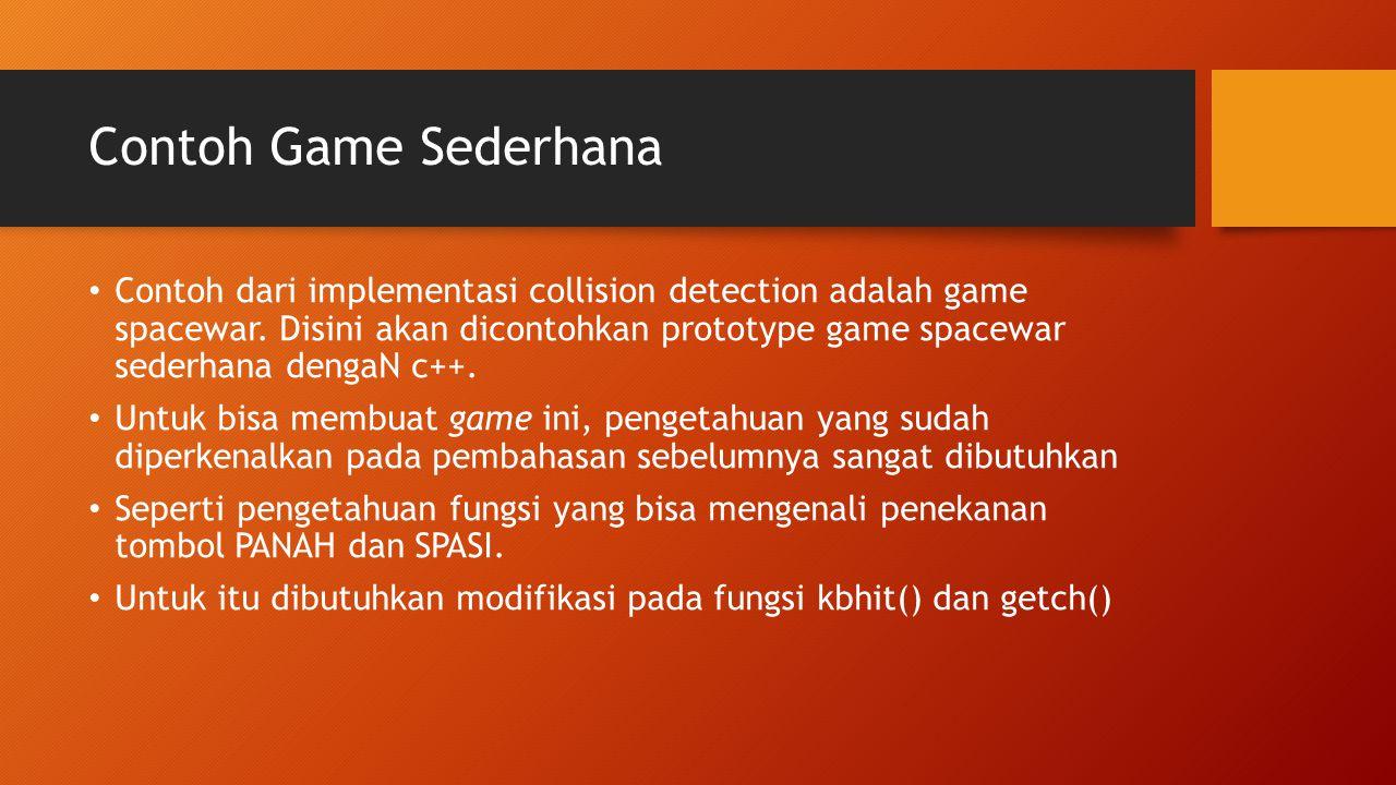 Contoh Game Sederhana