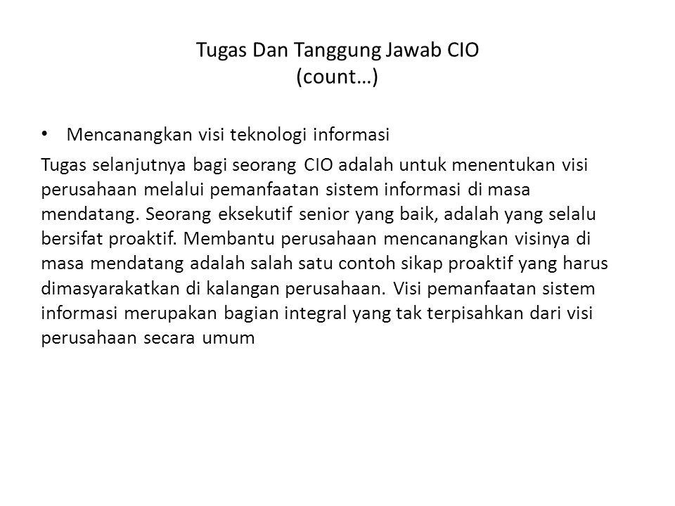 Tugas Dan Tanggung Jawab CIO (count…)