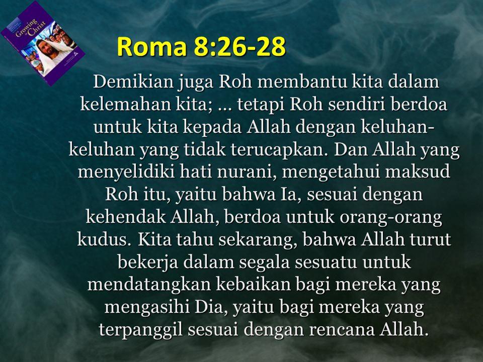 Roma 8:26-28