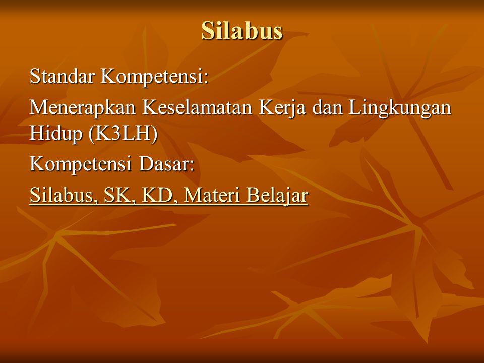 Silabus Standar Kompetensi: