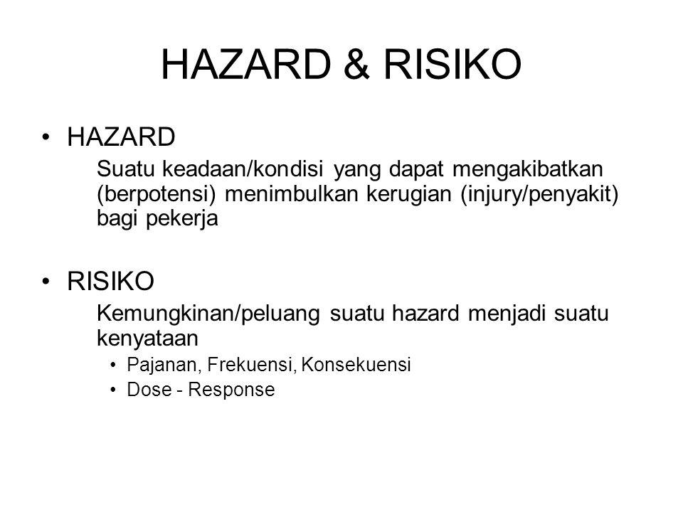 HAZARD & RISIKO HAZARD RISIKO
