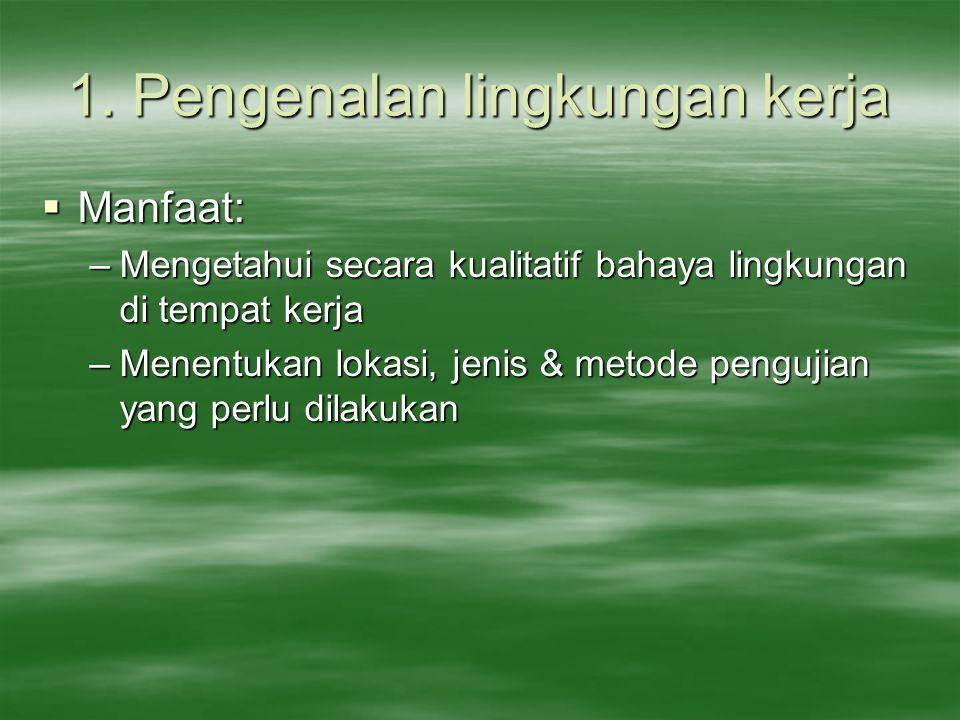 1. Pengenalan lingkungan kerja