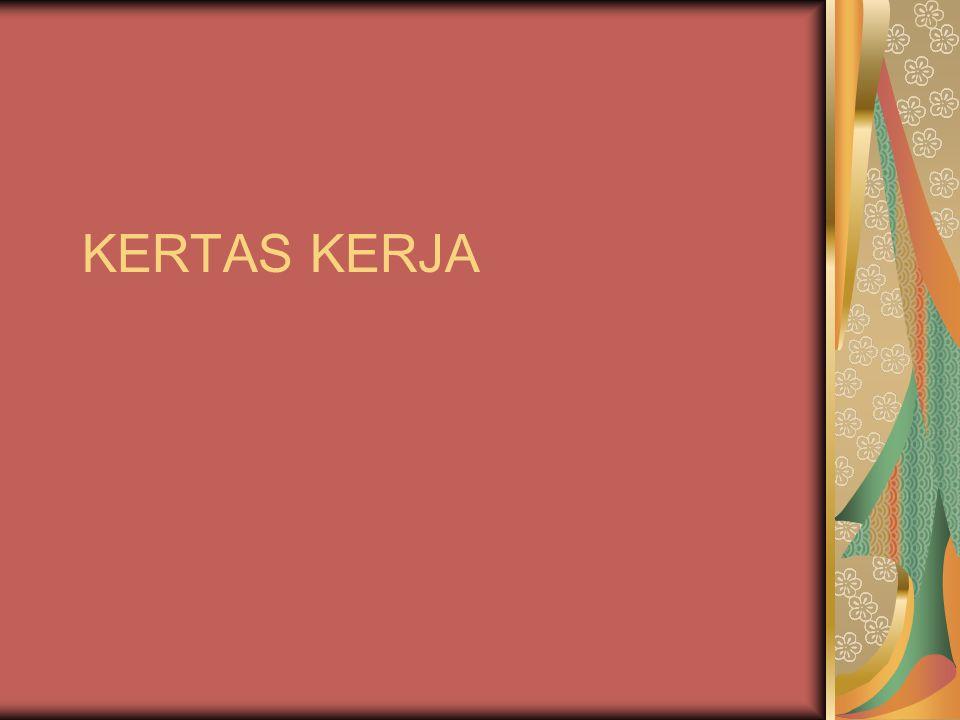 KERTAS KERJA