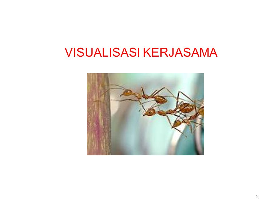 VISUALISASI KERJASAMA