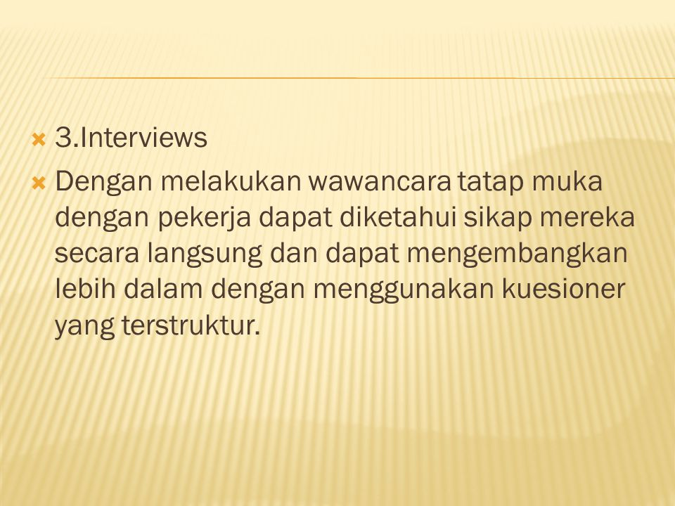 3.Interviews