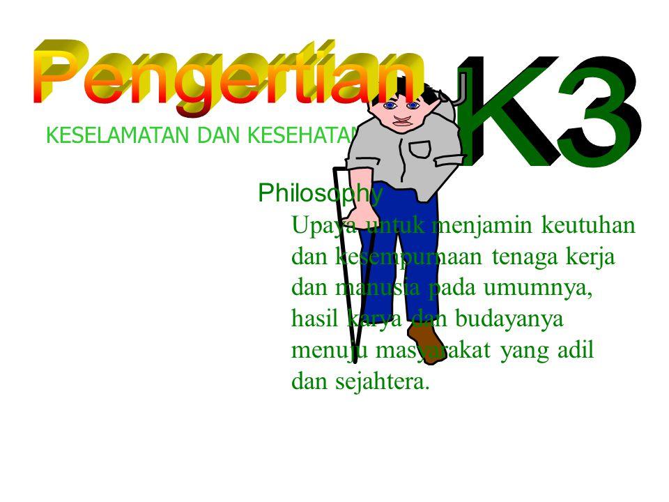 Pengertian K3 Philosophy