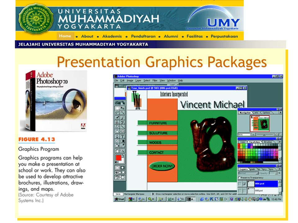 Presentation Graphics Packages