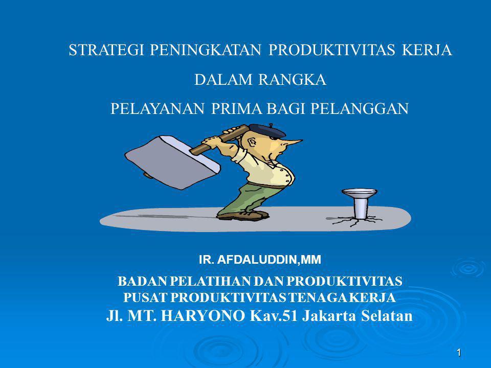 Jl. MT. HARYONO Kav.51 Jakarta Selatan