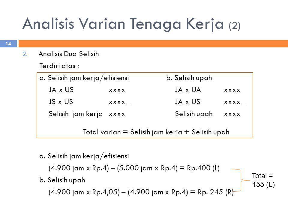 Analisis Varian Tenaga Kerja (2)