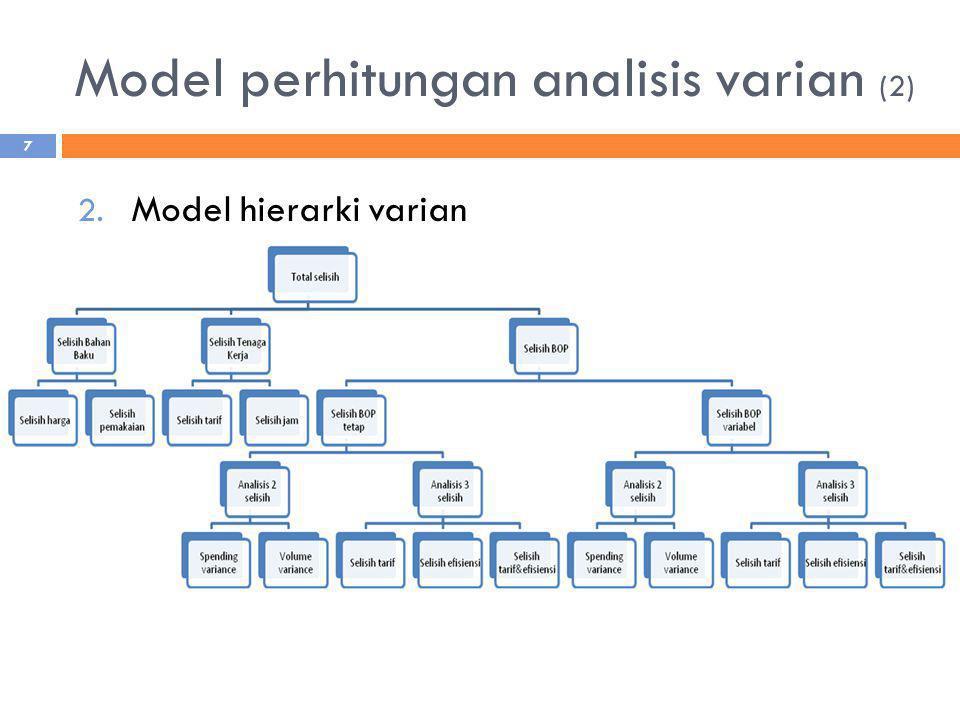 Model perhitungan analisis varian (2)