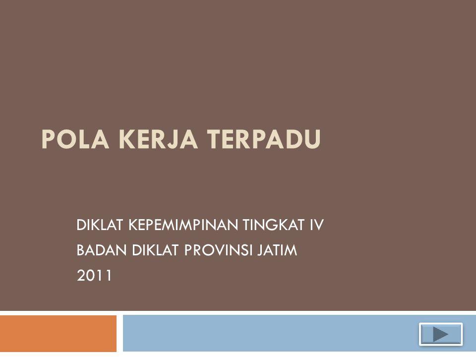 DIKLAT KEPEMIMPINAN TINGKAT IV BADAN DIKLAT PROVINSI JATIM 2011