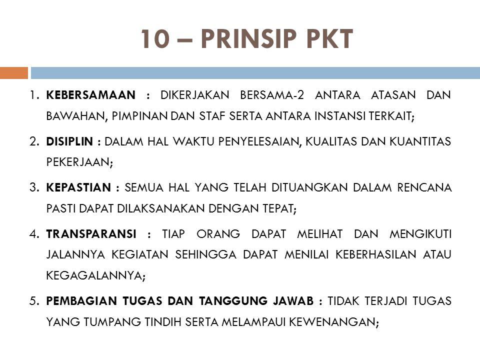 10 – PRINSIP PKT