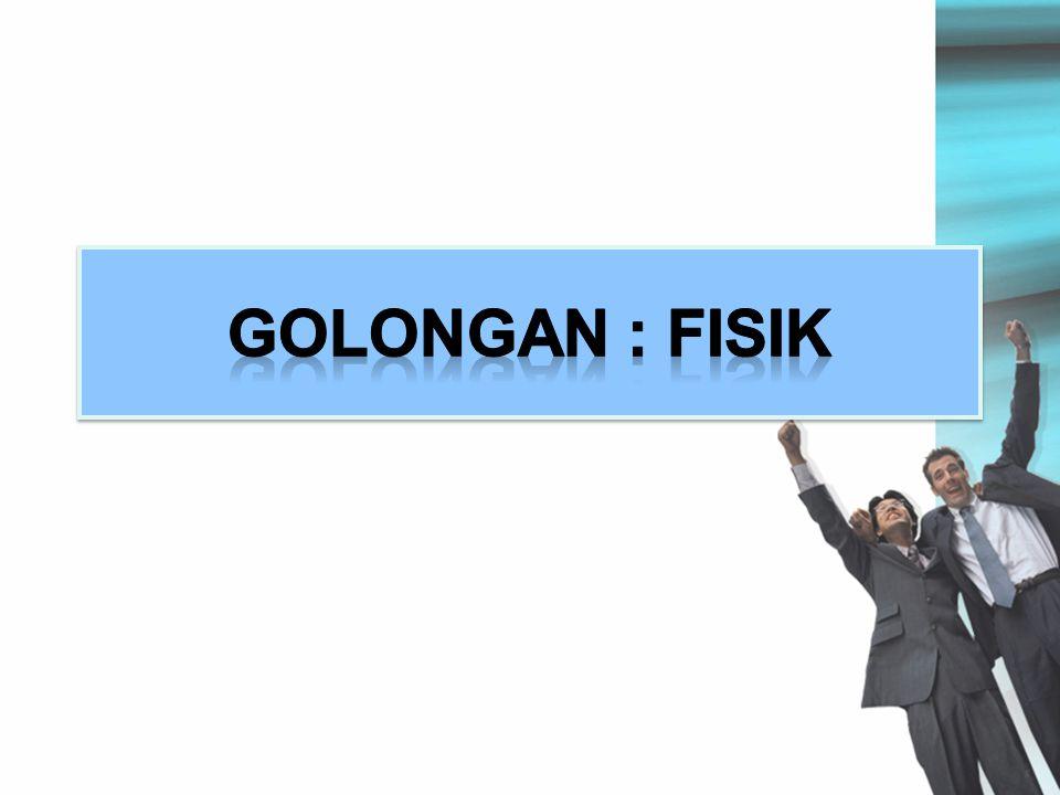 GOLONGAN : FISIK