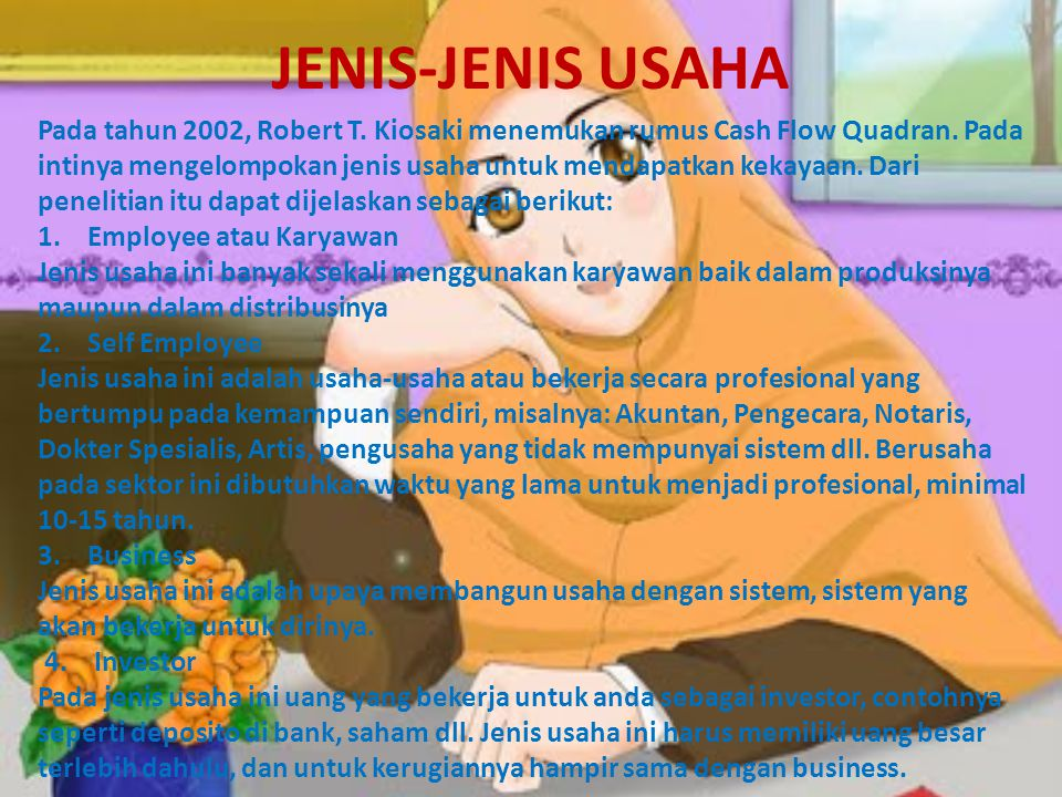 JENIS-JENIS USAHA