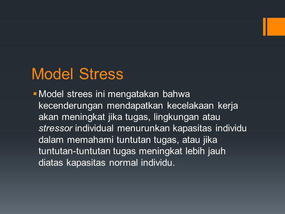 Model Stress