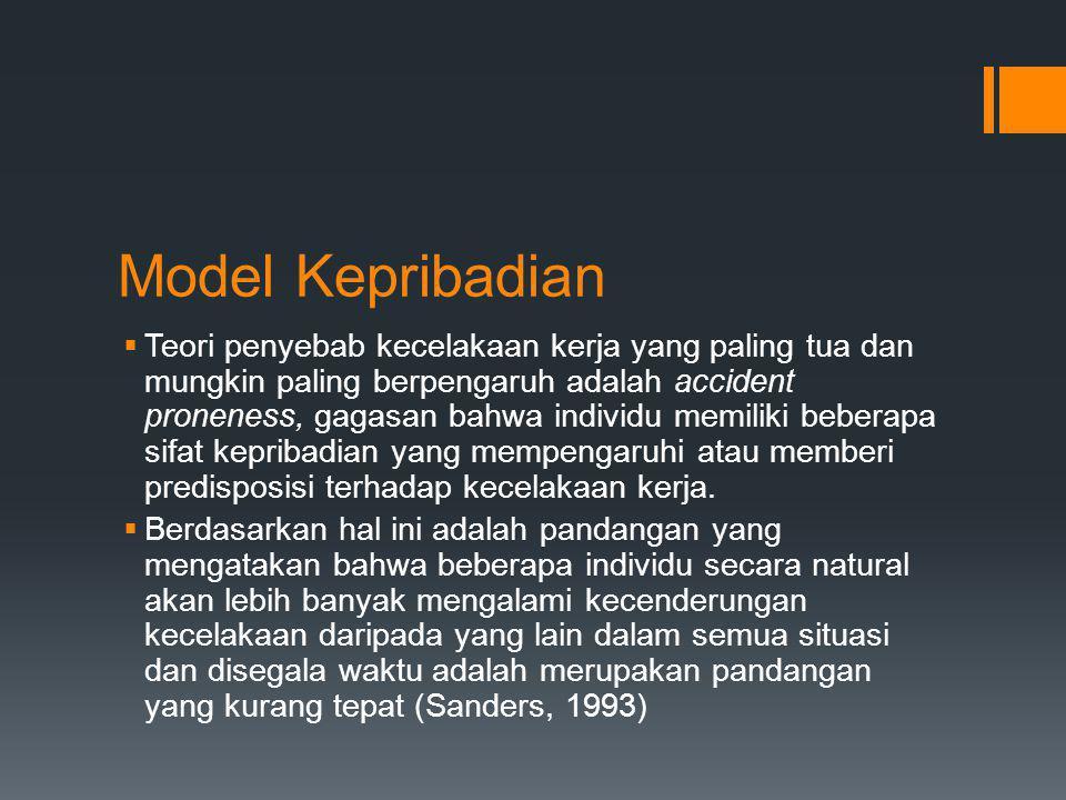Model Kepribadian