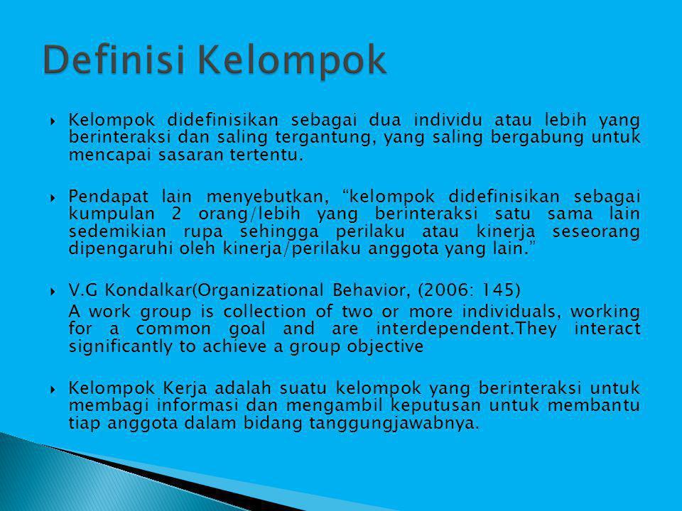 Definisi Kelompok