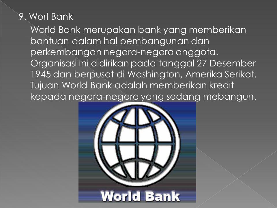 9. Worl Bank