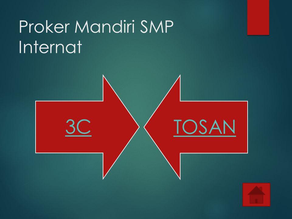 Proker Mandiri SMP Internat