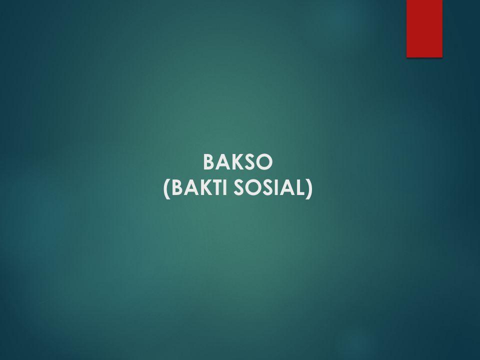 BAKSO (BAKTI SOSIAL)