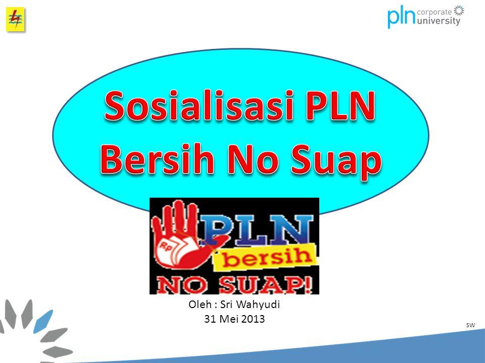 Sosialisasi PLN Bersih No Suap