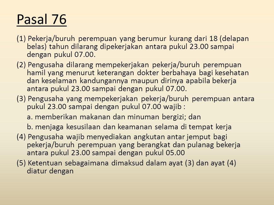 Pasal 76