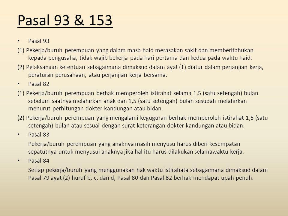 Pasal 93 & 153 Pasal 93.