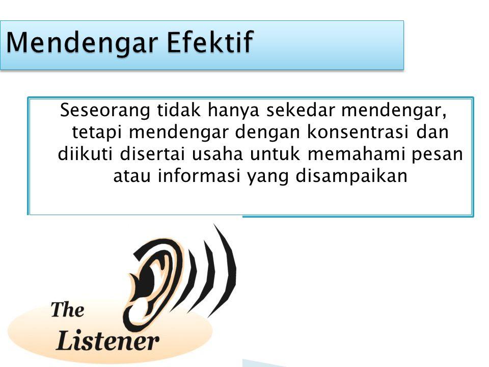 Mendengar Efektif