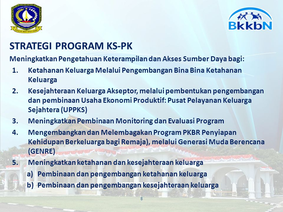 STRATEGI PROGRAM KS-PK