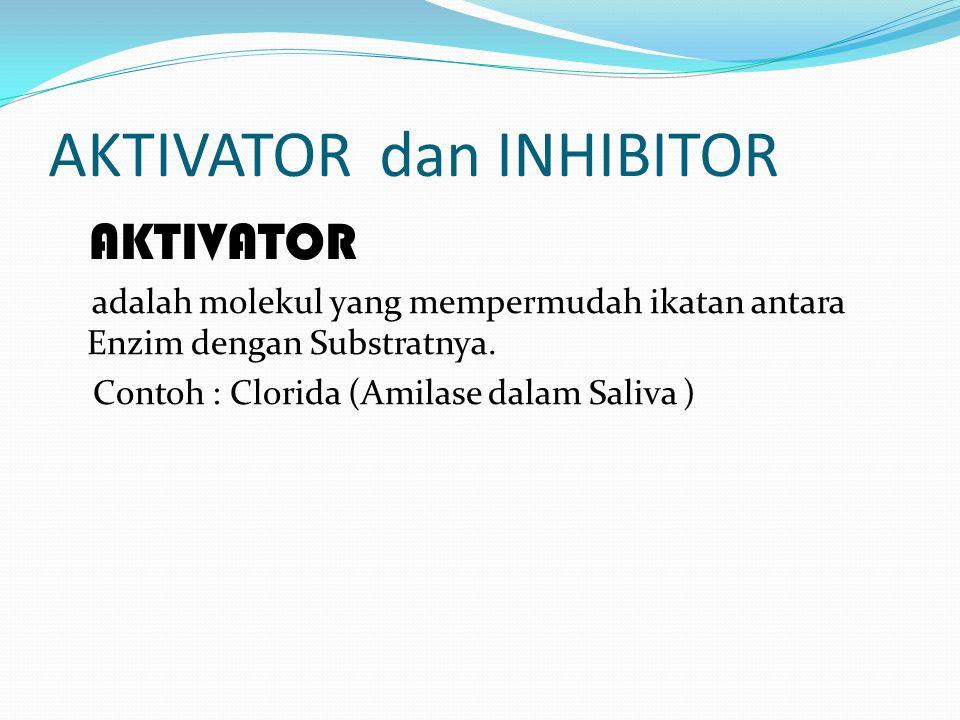 AKTIVATOR dan INHIBITOR