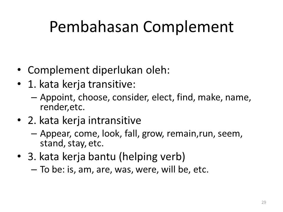 Pembahasan Complement