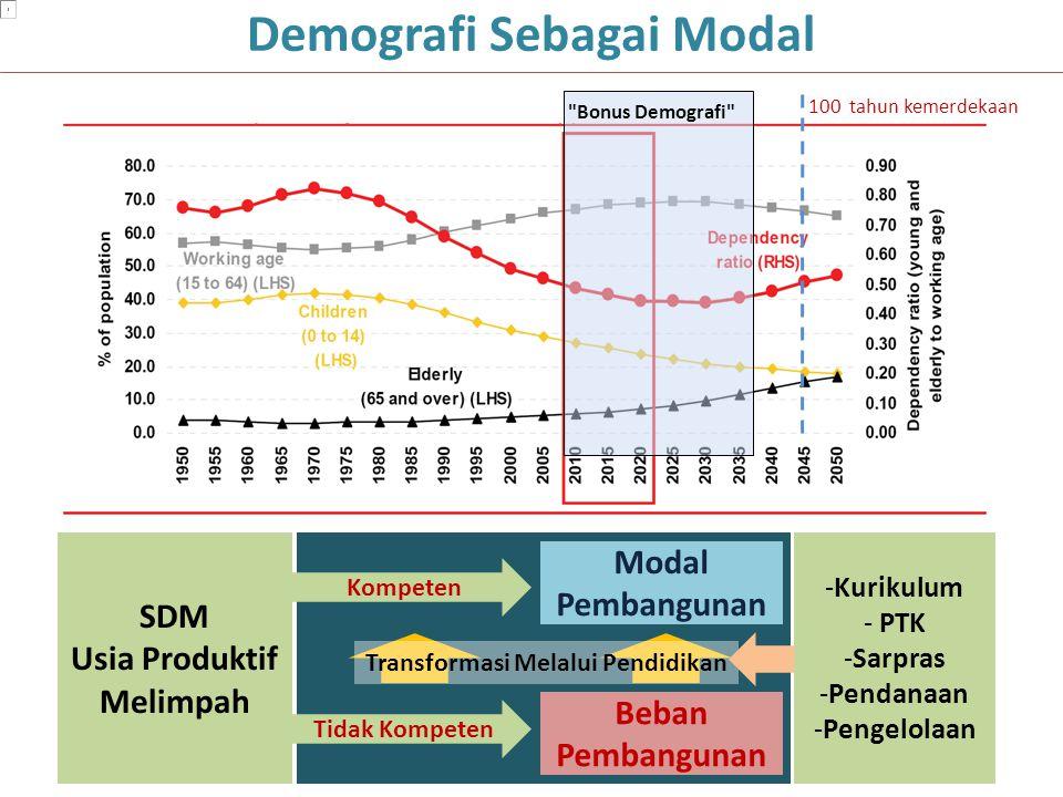 Demografi Sebagai Modal Usia Produktif Melimpah