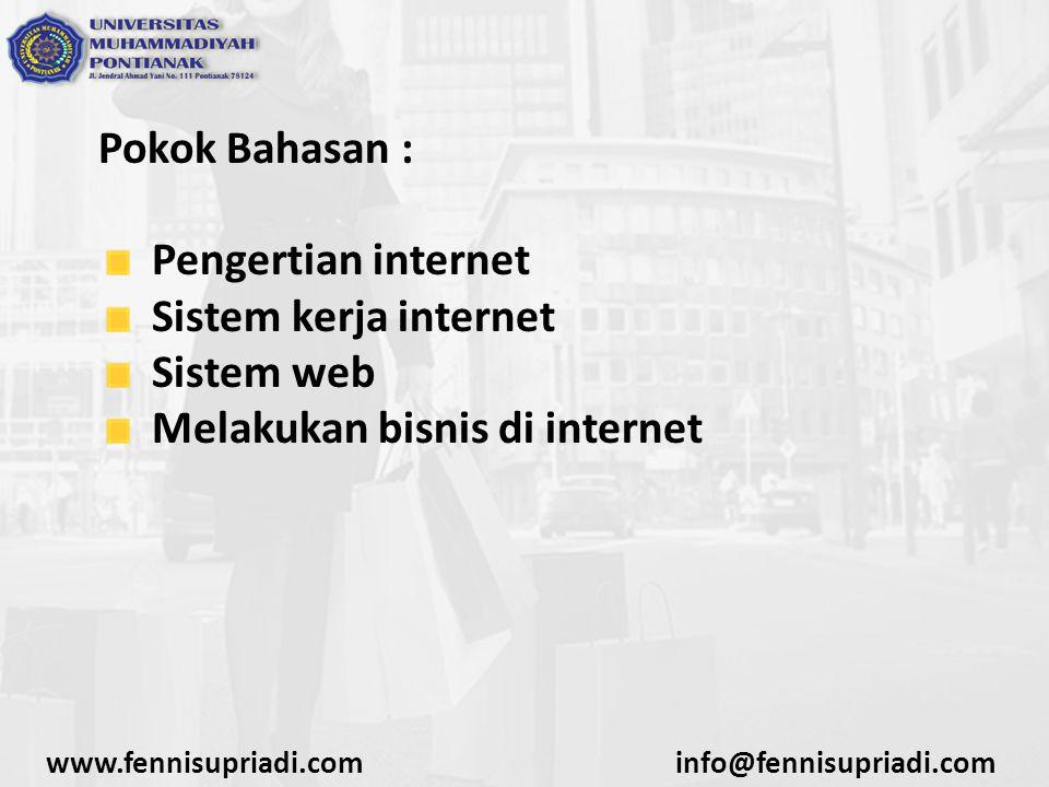 Melakukan bisnis di internet