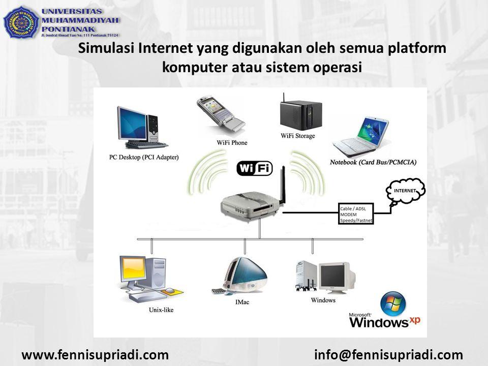 Simulasi Internet yang digunakan oleh semua platform komputer atau sistem operasi